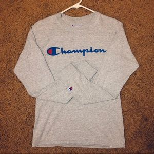 Champion gray long sleeve